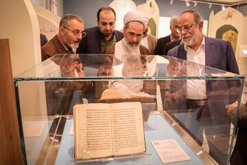 تصاویر/ بازدید آیت الله اعرافی از موزه ملک تهران