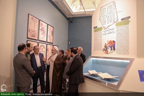 بالصور/ آية الله الأعرافي يتفقد المتحف الوطني بالعاصمة طهران