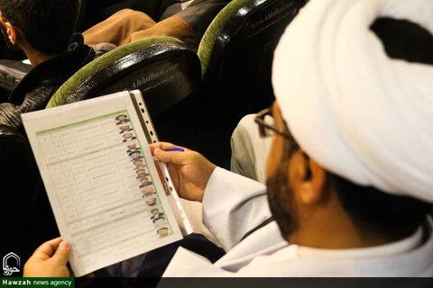 بالصور/ الحفل الختامي لمهرجان العلامة الحلي التاسع في حوزة أصفهان العلمية
