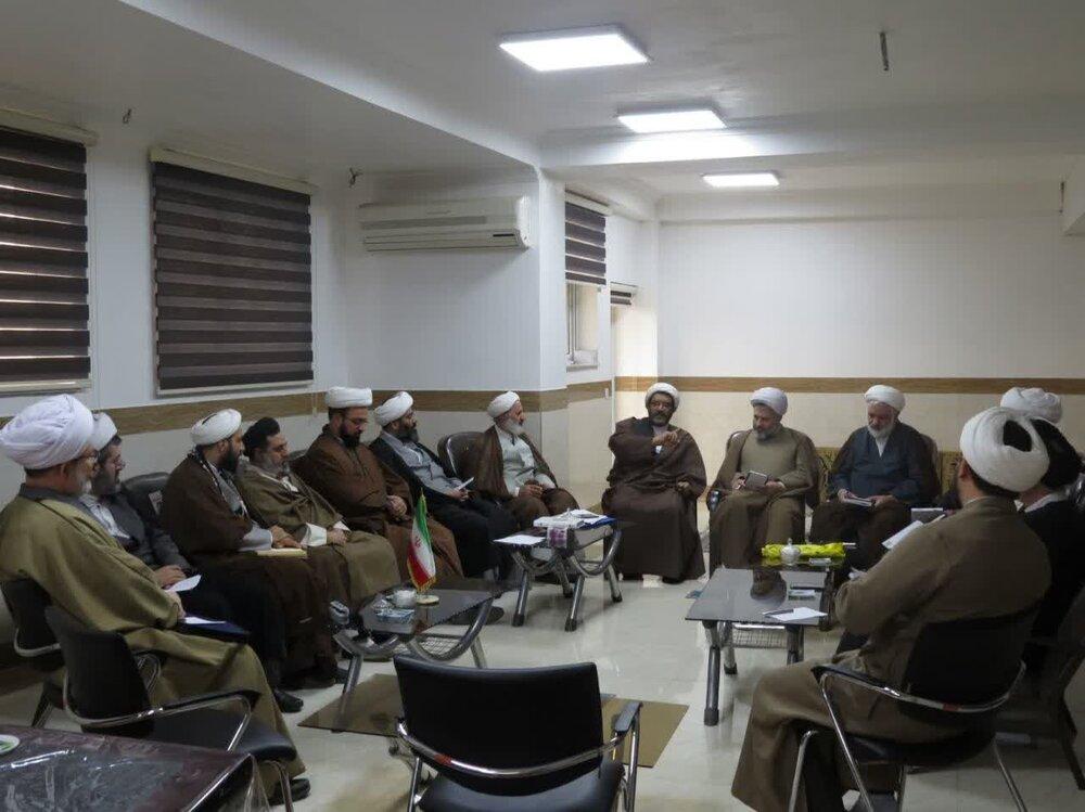 نخستین جلسه شورای تخصصی انجمن های علمی حوزه در مازندران برگزار شد