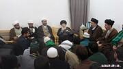 ابراز خرسندی آیت الله حکیم از حضور طلاب خارجی در حوزه نجف 