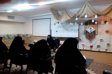برگزاری یک کارگاه آموزشی در مدرسه زینبیه آبیک