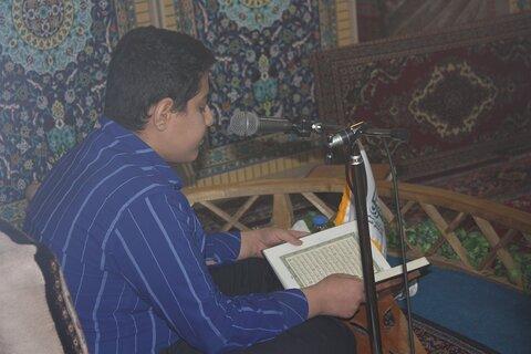 مرحله استانی مسابقات قرآن در حوزه علمیه کرمانشاه