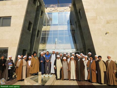 بازدید نخبگان و اساتید سطوح عالی حوزه علمیه  بسیجی  از شرکت دانش بنیان بهیار صنعت سپاهان