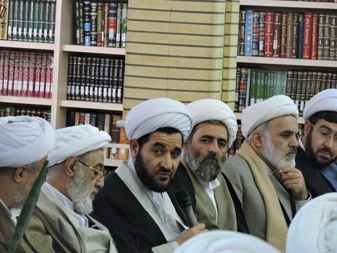 نشست دورهمی اساتید حوزه و اساتید معارف دانشگاه های تبریز