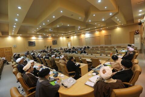 تصاویر / نشست هم اندیشی مسئولان و معاونان پژوهشی واحدهای علمی حوزوی