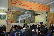 تصاویر/ یادواره شهدای طلبه و روحانی مدرسه علمیه امام صادق(ع) بجنورد