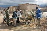 تصاویر/ اردوی جهادی طلاب مدرسه علمیه امام خمینی(ره) بجنورد در مناطق محروم خراسان شمالی