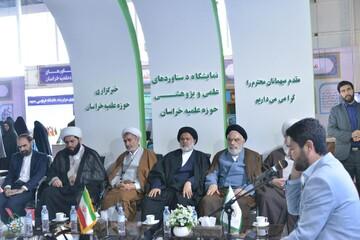 مدیر حوزه علمیه خراسان از بیستمین نمایشگاه پژوهش و فناوری بازدید کرد
