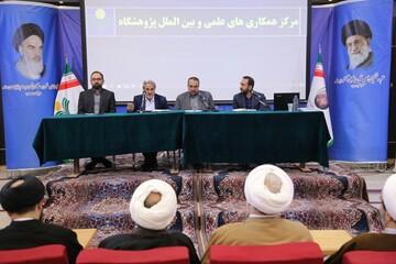 میزگرد راهکارهای توسعه فعالیت بین الملل دفتر تبلیغات اسلامی برگزار شد