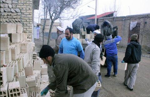 اردوی جهادی طلاب مدرسه علمیه امام خمینی(ره) بجنورد
