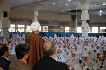تصاویر/ جشن تکلیف دانش آموزان بجنوردی