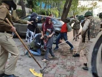 دانشگاه اسلامی دهلی زیر تیغ پلیس هند