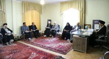 نحوه حضور روحانیون در مدارس دانش آموزی آذربایجان شرقی بررسی شد