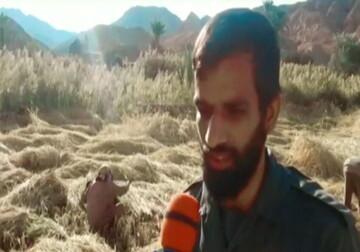 فیلم| ماجرای نذر یک روحانی جهادی در دل کویر