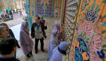 A delegation of Chinese engineers visit the Imam Ali (PBUH) holy shrine