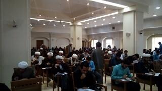 رقابت طلاب خراسان در آزمون سالانه حافظان قرآن کریم