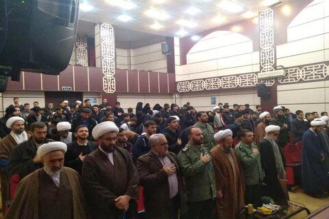 """بالصور/ ندوة تحت عنوان """"دور التيارات التكفيرية في أعمال الشغب الأخيرة"""" في مدينة بيخار غربي إيران"""