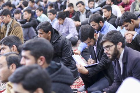 کارگاه آموزشی سواد رسانه در مدرسه علمیه رضویه بیرجند