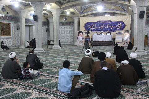 سومین نشست پژوهش و تمدن نوین اسلامی در مدرسه علمیه فیضیه