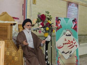 تصاویر/ حضور رئیس مرکز خدمات حوزههای علمیه در حوزه علمیه بناب