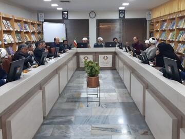 تصاویر/ هم اندیشی اساتید حوزه و دانشگاه کاشان