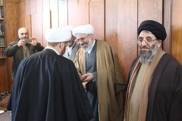 مدیر جدید مدرسه علمیه میرزا ابراهیم شهید خوی معرفی شد + عکس