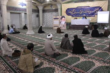 تصاویر/ چهارمین نشست پژوهش و تمدن نوین اسلامی در مدرسه علمیه فیضیه