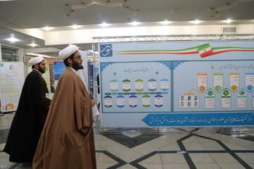 تصاویر/ نمایشگاه دستاوردهای پژوهشی و فناوری مرکز تحقیقات کامپیوتری علوم اسلامی