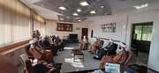 دیدار مدیر حوزه علمیه تهران با رئیس عقیدتی سیاسی ارتش+ عکس