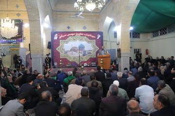 افتتاحیه سوگواره امامزاده موسی مبرقع(ع) برگزار شد