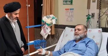 عیادت امام جمعه ارومیه از عضو شورای روحانیت+ عکس