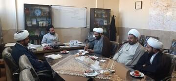 جلسه هماهنگی معاونت تهذیب حوزه اصفهان و سازمان بسیج طلاب برگزار شد