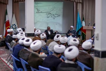 تصاویر/ هم اندیشی علما و اساتید حوزه علمیه شیعه و سنی خراسان جنوبی