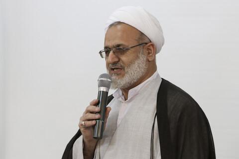 حجت الاسلام عابدینی، معاون پژوهش مدرسه علمیه علوی