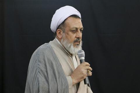 حجت الاسلام و المسلمین اقبالی، مدیر مدرسه علمیه علوی