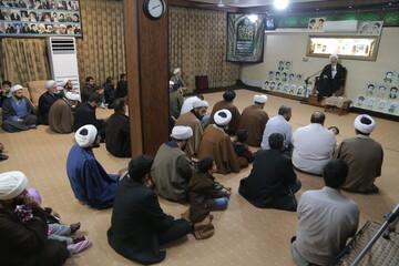 تصاویر/ جلسه طلاب و فضلای اردکان یزد با حضور آیت الله فقیهی
