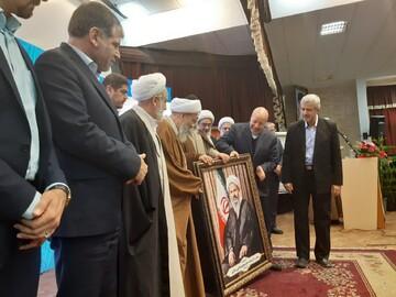 تصاویر/ آیین نکوداشت آیت الله عبدالنبی نمازی در کاشان