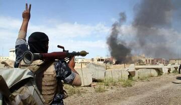 قوات عراقية تعالج 8 إرهابيين بصاروخ داخل وكرهم بصلاح الدين