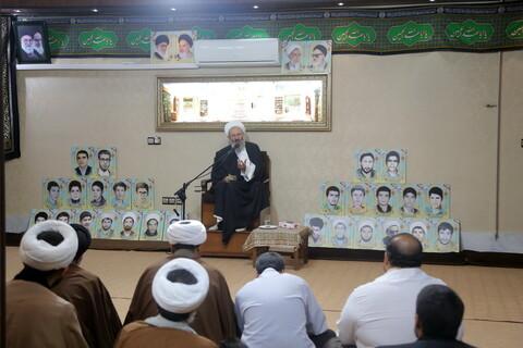 تصاویر / نشست طلاب و فضلای اردکان یزد با آیت الله فقیهی