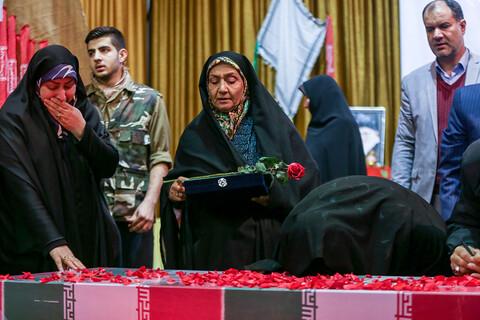 ششمین یادواره ۲۸ شهید هنرستان آزادی فلسطین تهران