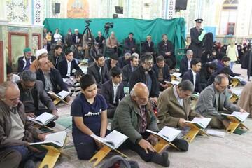 تصاویر/ مسابقات قرآن طلاب کشور در آستان محمد هلال بن علی (ع) آران و بیدگل