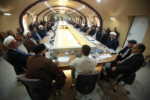 تصاویر/ نهمین گردهمایی معاونین منابع انسانی و پشتیبانی و امنای مالی استانی حوزه های علمیه