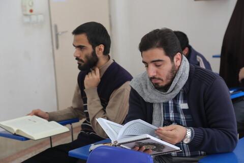 مرحله استانی نهمین دوره مسابقات قرآن و حدیث حوزه علمیه استان قم