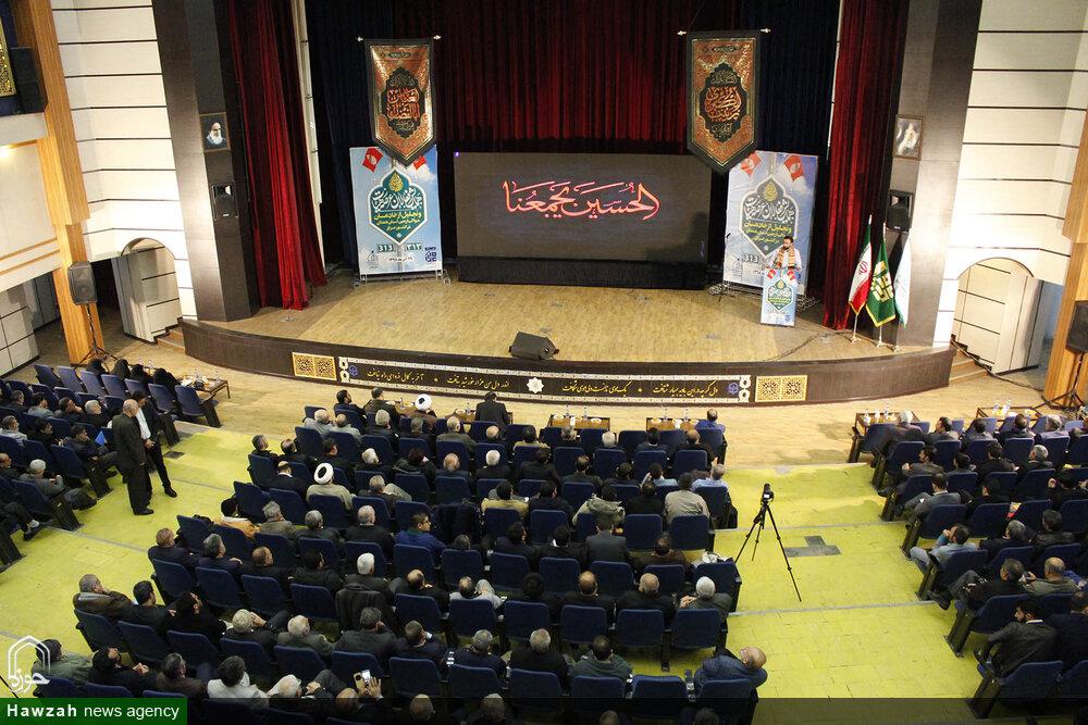 تصاویر/ همایش فعالان عرصه هیئات و تجلیل از خادمان مواکب اربعین استان همدان در عراق