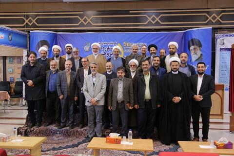 تصاویر / اختتامیه پنجمین نمایشگاه دستاوردهای پژوهشی و فناوری دفتر تبلیغات اسلامی