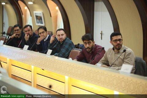 بالصور/ الندوة التاسعة لمديري الموارد البشرية، والدوائر المالية لإدارات الحوزات العلمية لمحافظات إيران بمشهد المقدسة