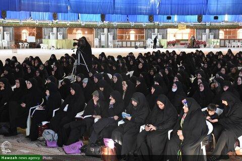 بالصور/ مراسم الاحتفاء بأسبوع وحدة الحوزة العلمية والجامعة بمدينة بجنورد شمالي شرق إيران