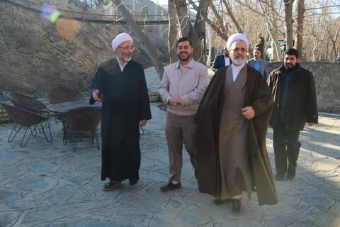 تصاویر/ بازدید آیت الله اعرافی از مجتمع مفتاح مشهد