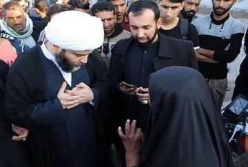 نماینده اعزامی رهبر معظم انقلاب صدای ماهشهری ها را شنید+ عکس